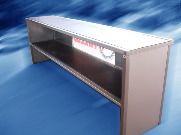Bancone vendita per negozzi - acciaio INOX - foto 2