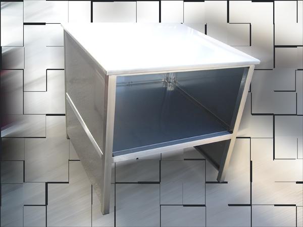 Basi polivalenti per ufficio - acciaio INOX - foto 2