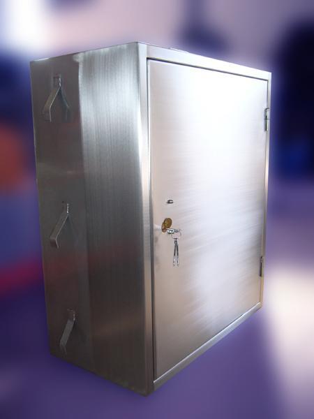 Mobili di sicurezza per ufficio in acciaio INOX - foto 1