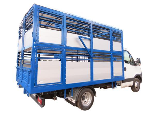 Allestimento autocarro Daily per trasporto animali  - foto 2