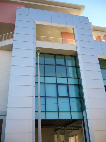 Rivestimenti in alluminio delle facciate esterne degli edifici - foto 2