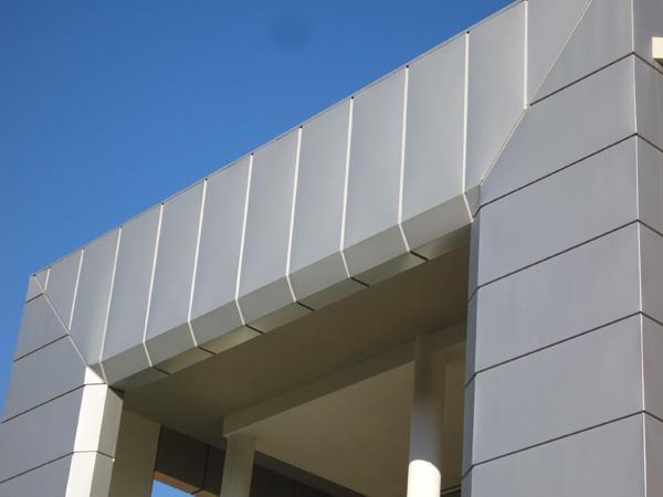 Rivestimenti in alluminio delle facciate esterne degli edifici - foto 3