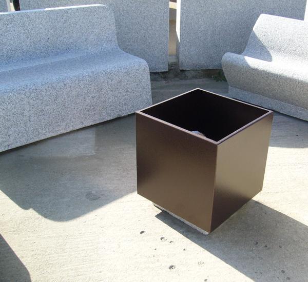 Vasi in acciaio INOX galvanizzato - foto 1