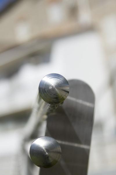 Panchine e ringhiere Sofia in acciaio INOX - foto 4