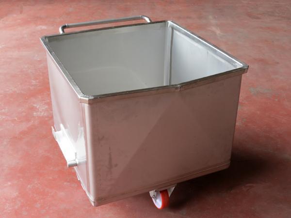 Vagonetti in acciaio INOX per trasporto carni  - foto 2