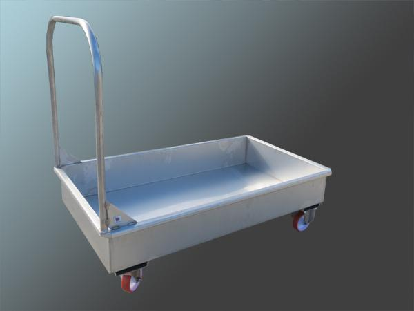 Carrelli in acciaio INOX per la movimentazione di alimenti - foto 2