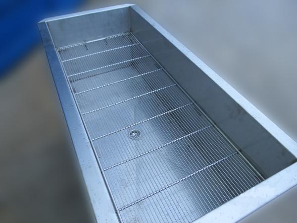 Lavello professionale con griglia in acciaio INOX - foto 2