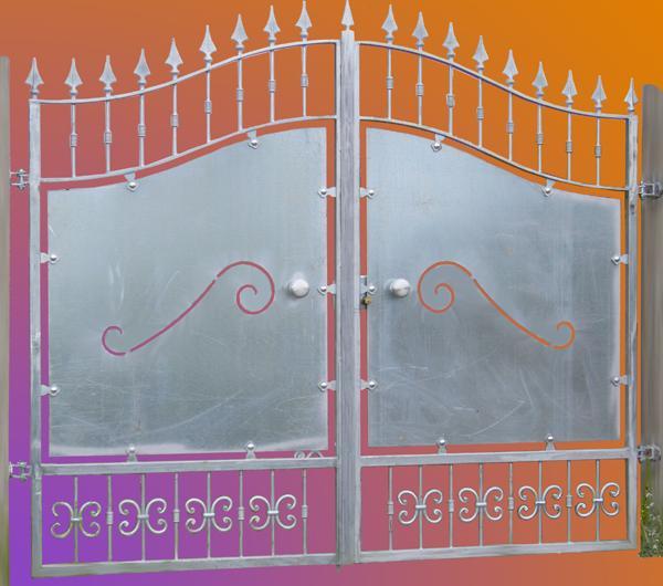 Cancello classico in ferro zincato  - foto 1
