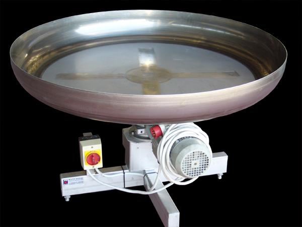 Pedana rotante di smistamento formaggi - acciaio INOX   - foto 1