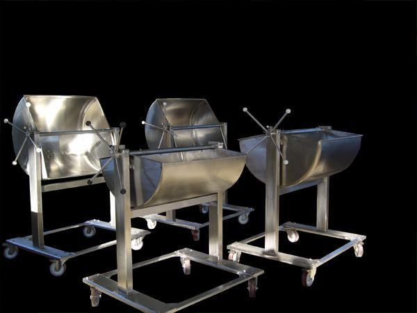 Lavorazione formaggi molli - Cassoni in acciaio INOX - foto 1