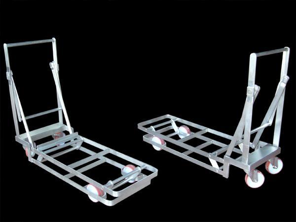 Carrelli in acciaio INOX modello francese per caseifici - foto 1
