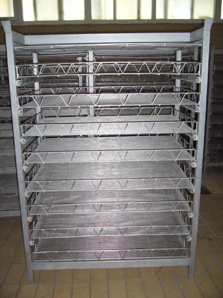 Palchetti per salamoia formaggi in acciaio INOX - foto 1