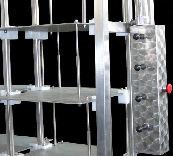 Pressa multilivello per formaggi - in acciaio INOX - foto 2
