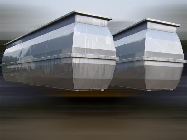 Vasca per salamoia in acciaio INOX - foto 2