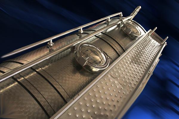 Passerelle e bottole in acciaio INOX per autocisterne - foto 1