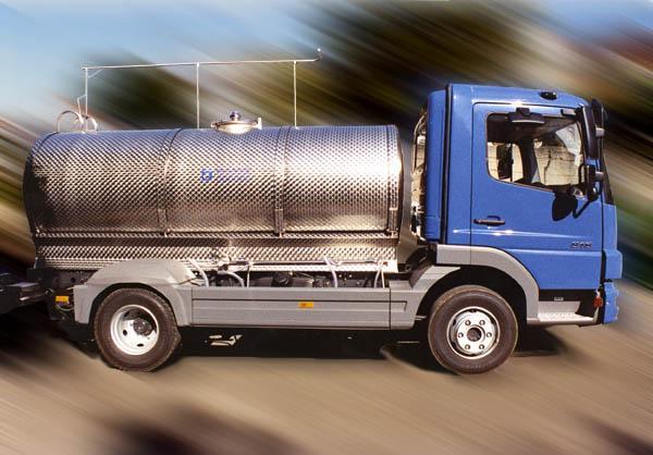 Autocisterna Trasporto Acqua potabile - acciaio INOX - foto 1