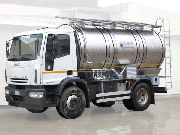 Autocisterna trasporto latte in acciaio - Milk D16 - foto 1