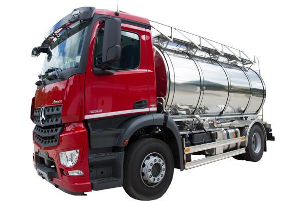Autocisterna 4S trasporto latte e liquidi alimentari - foto 1