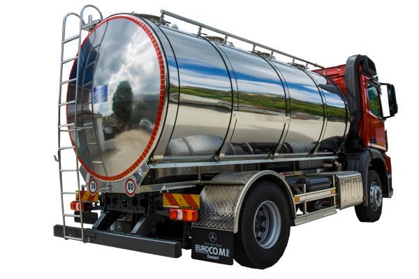 Autocisterna 4S trasporto latte e liquidi alimentari - foto 2