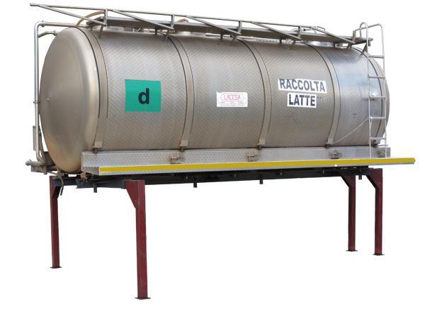Cisterna scarrabile per il trasporto di liquidi  - foto 3