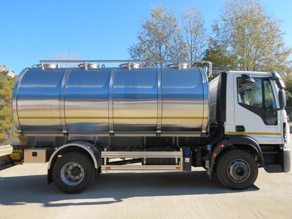 Autocisterna per il trasporto del latte Milk 11K - foto 2