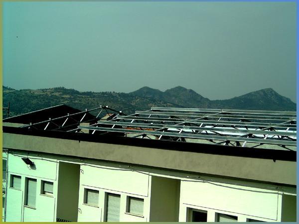Copertura tetti in ferro zincato - foto 1