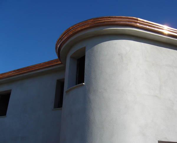 Lattoneria - grondaia in rame modello doppio tondo - foto 1