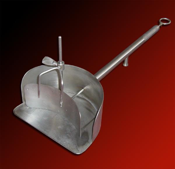 Spiedo arrostitore di formaggi - acciaio INOX - foto 2