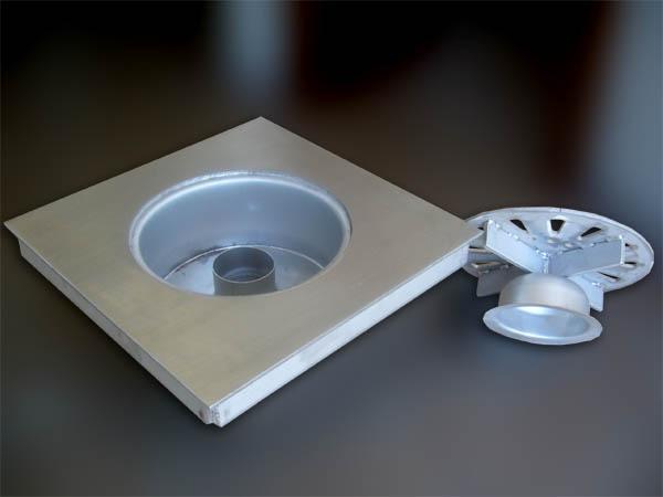 Pozzetti in acciaio INOX con barriera antiodore - foto 2