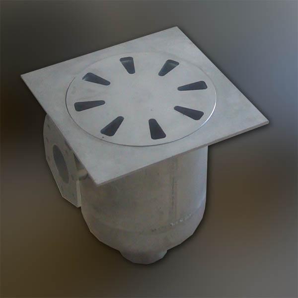 Pozzetti in acciaio INOX a collettore laterale - foto 1