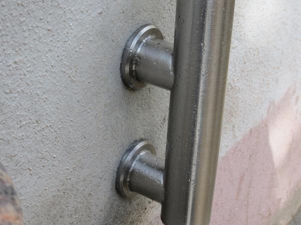 Ringhiera da esterni acciaio INOX modello COIVA - foto 3