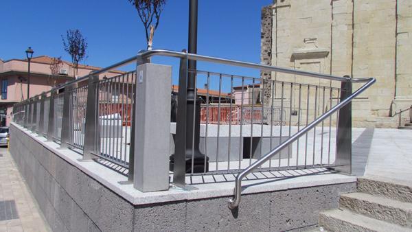 Ringhiera esterni acciaio INOX modello Terralba - foto 3