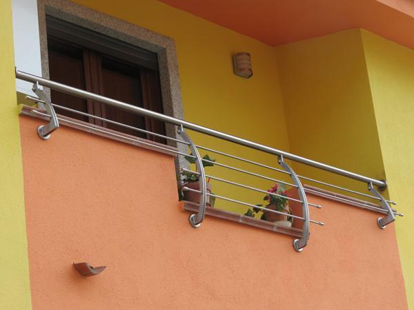 Ringhiera per balconi in acciaio INOX - foto 1