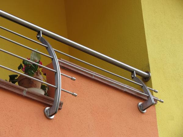 Ringhiera per balconi in acciaio INOX - foto 2