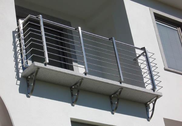 Righiere e corrimano da esterno in acciaio INOX - foto 1