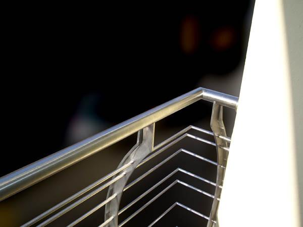 Bruno Acciai - Ringhiera da esterno con sagomatura a pancia