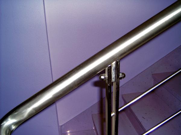 Ringhiere da interno in acciaio INOX satinato - foto 3