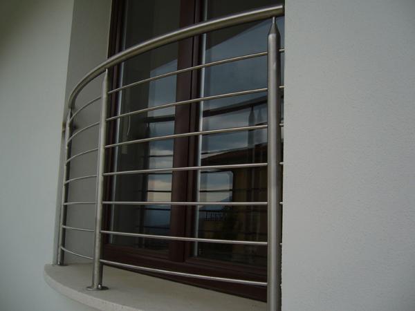 Ringhiere calandrate da esterni  in acciaio INOX - foto 1
