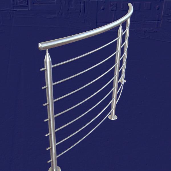 Ringhiere calandrate da esterni  in acciaio INOX - foto 2