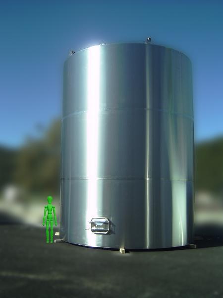 Cisterne Silos raccolta acqua - acciaio INOX - foto 1