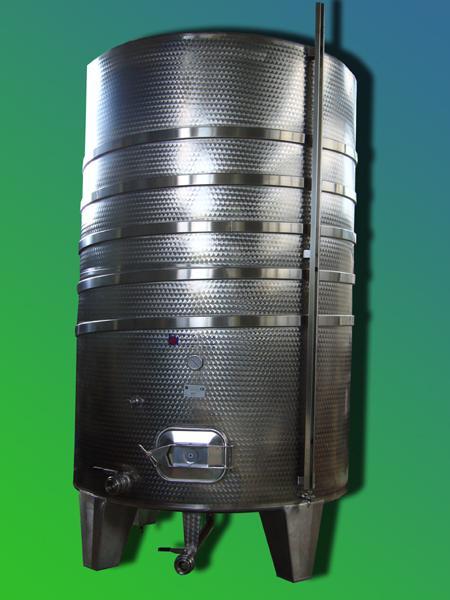 Silos coimbentato refrigerato in acciaio INOX - foto 1