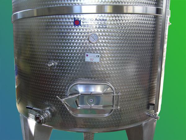 Silos coimbentato refrigerato in acciaio INOX - foto 2