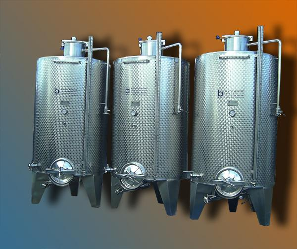 Serbatoi silos ad uso enologico - acciaio INOX - foto 1
