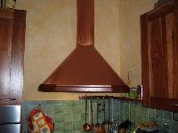 foto del prodotto Cappe per cucina in rame satinato