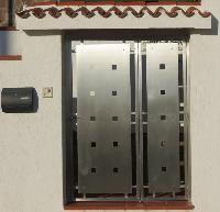 foto del prodotto Portone a cancelletto per esterni in acciaio INOX