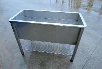foto del prodotto Lavello professionale con griglia in acciaio INOX
