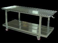 foto del prodotto Tavolo trasporto formaggi in acciaio INOX