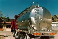 foto del prodotto Autocisterna trasporto liquidi alimentari - acciaio INOX