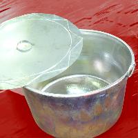 foto del prodotto Pentoloni in rame con interno stagnato - Lapiolu